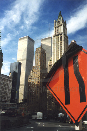 World Trade Center Premonition - April, 2000